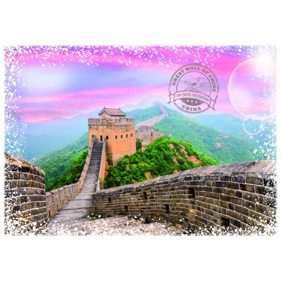 Puzzle Grafika-T-00223 Travel around the World - China