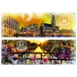 Puzzle  Grafika-T-00231 Travel around the World - Belgien und Niederlande
