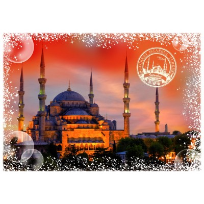 Puzzle Grafika-T-00233 Travel around the World - Türkei