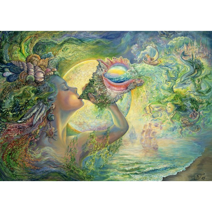 Josephine Wall - Call of the Sea