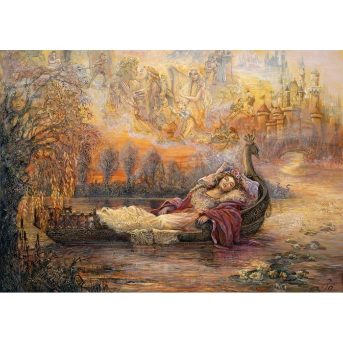 Josephine Wall - Dreams of Camelot