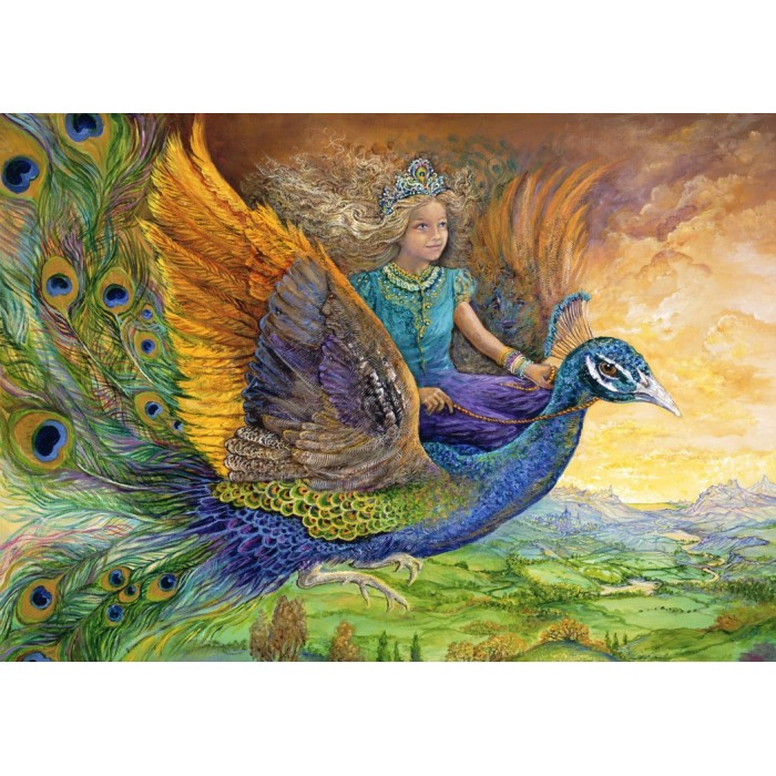 Josephine Wall - Peacock Princess