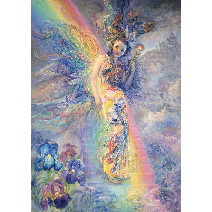 Josephine Wall - Iris, Keeper of the Rainbow