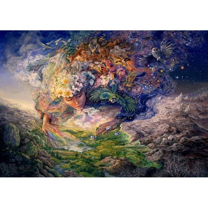Josephine Wall - Breath of Gaia