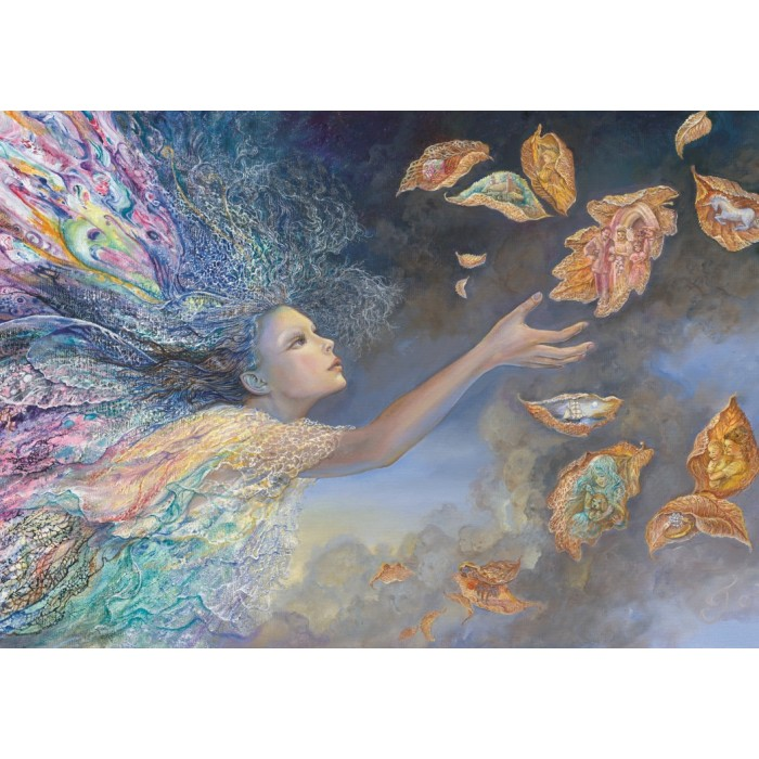 Josephine Wall - Catching Wishes