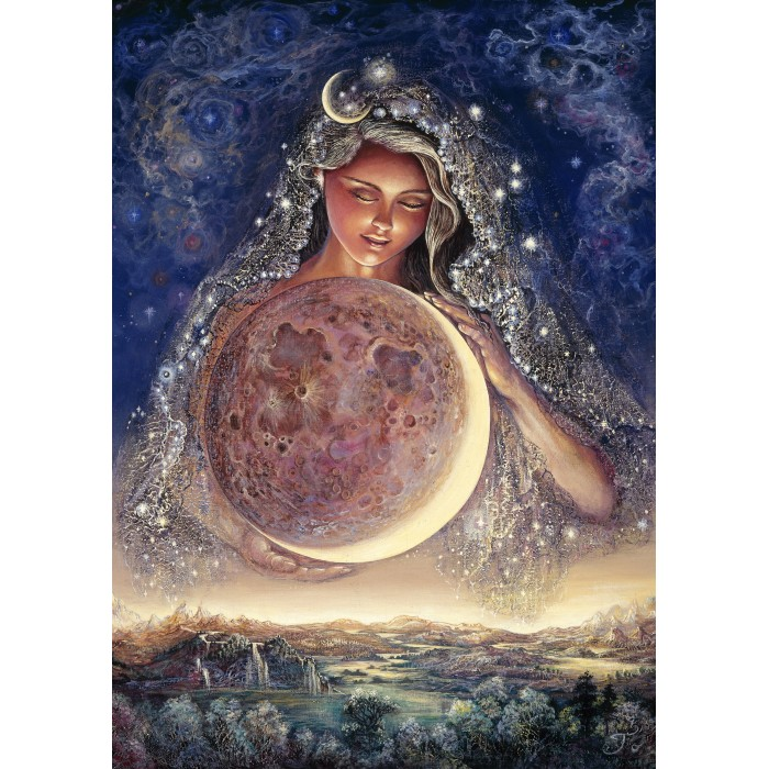 Josephine Wall - Moon Goddess