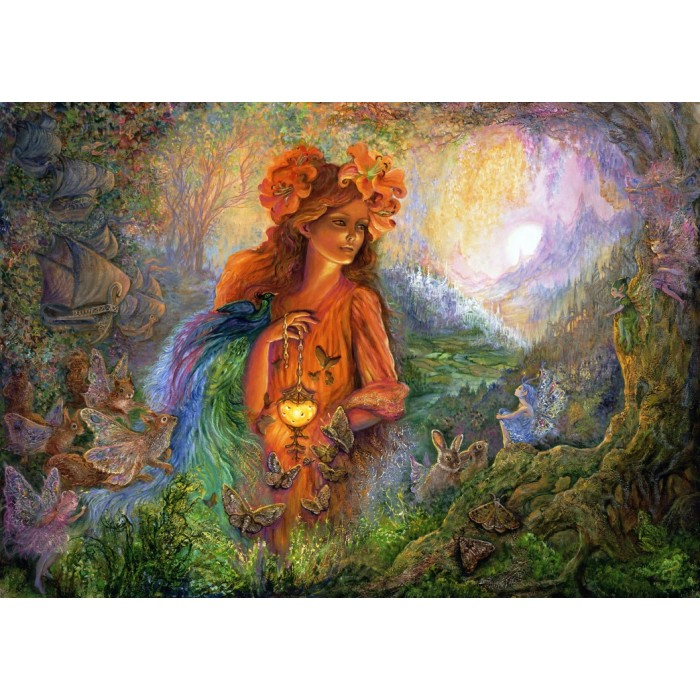 Josephine Wall - Lighting the Way