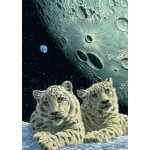 Puzzle  Grafika-T-00420 Schim Schimmel - Lair of the Snow Leopard