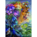 Puzzle  Grafika-T-00630 Josephine Wall - The Three Graces