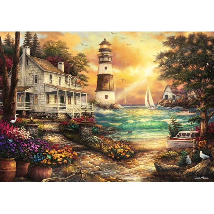 Chuck Pinson - Cottage by the Sea