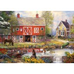 Puzzle  Grafika-T-00760 Chuck Pinson - Reflections On Country Living