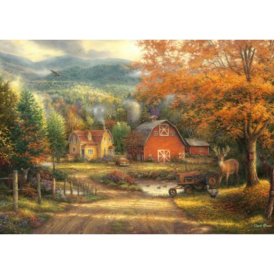 Puzzle Grafika-T-00825 Chuck Pinson - Country Roads Take Me Home
