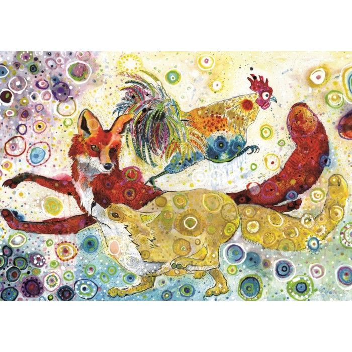Sally Rich - Leaping Fox's
