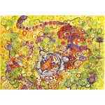 Puzzle  Grafika-T-00940 Swimming Tiger