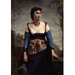 Puzzle   Jean-Baptiste-Camille Corot : Agostina, 1866