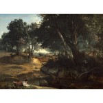 Puzzle   Jean-Baptiste-Camille Corot: Forest of Fontainebleau, 1834