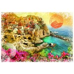 Puzzle   Travel around the World - Italien