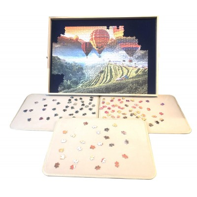 Jig-and-Puz-80016 Luxe Puzzle Table - 100 bis 1000 Teile + 3 Sorting Boards
