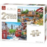 2 Puzzles - Amsterdam & London