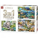 3 Puzzles - Animal Collection