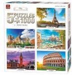 5 Puzzles - City Collection