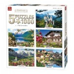 5 Puzzles - Landscape Collection