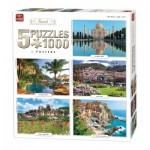 5 Puzzles - Travel Collection