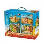 King-Puzzle-05137 4 Puzzles - The Lion King