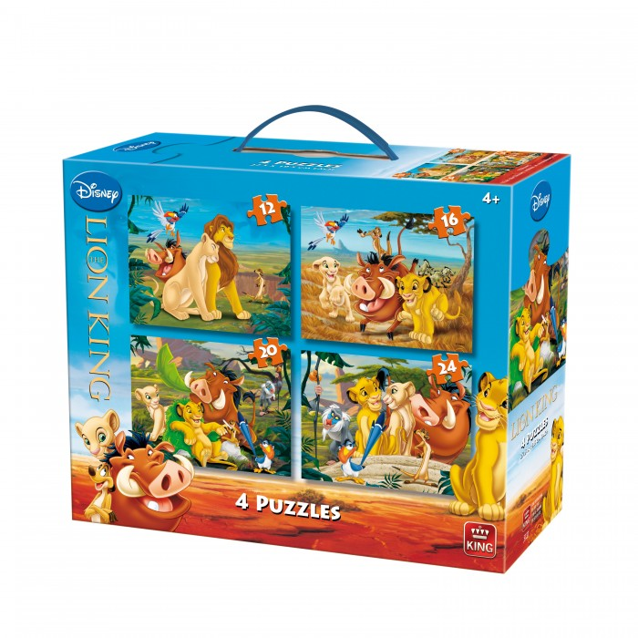 4 Puzzles - The Lion King