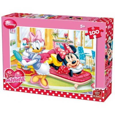 Puzzle King-Puzzle-05177-B I Love Minnie