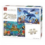 King-Puzzle-05211 2 Puzzles - Sea Collection