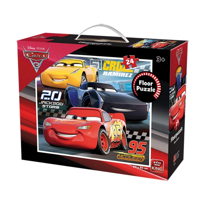 Riesenboden Puzzle - Cars 3