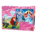 King-Puzzle-05416 2 Puzzles - Disney Princess