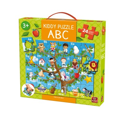 King-Puzzle-05441 Riesen-Bodenpuzzle - Kiddy ABC
