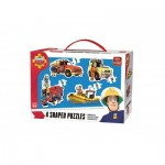 King-Puzzle-05637 4 Puzzles - Fireman Sam