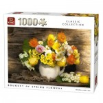 Puzzle  King-Puzzle-05646 Bouquet of Spring Flowers