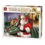 Puzzle  King-Puzzle-05684 Christmas Santa Train