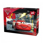 Puzzle  King-Puzzle-05696-B Cars 3