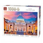 Puzzle  King-Puzzle-05706 St. Peters Dom Italien