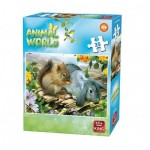 Puzzle  King-Puzzle-05774-C Animal World