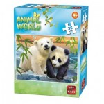Puzzle  King-Puzzle-05774-F Animal World