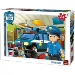 Puzzle  King-Puzzle-55838 Rescue Team - Police Truck