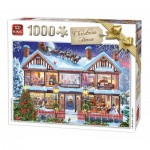 Puzzle  King-Puzzle-55873 Christmas House