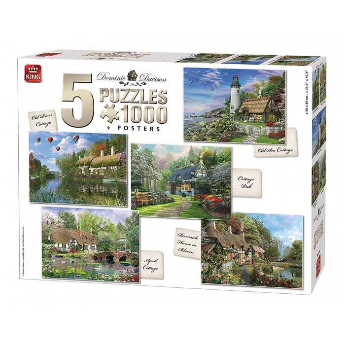 5 Puzzles - Cottages