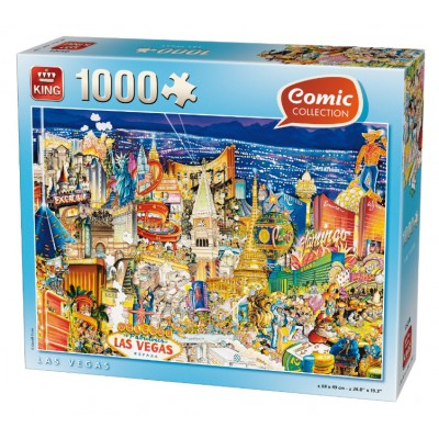 Puzzle King-Puzzle-k05201 Comic Collection - Las Vegas