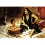 Puzzle  KS-Games-11363 Frederick Arthur Bridgman: Das Bad