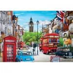 Puzzle  KS-Games-24001 London in Red