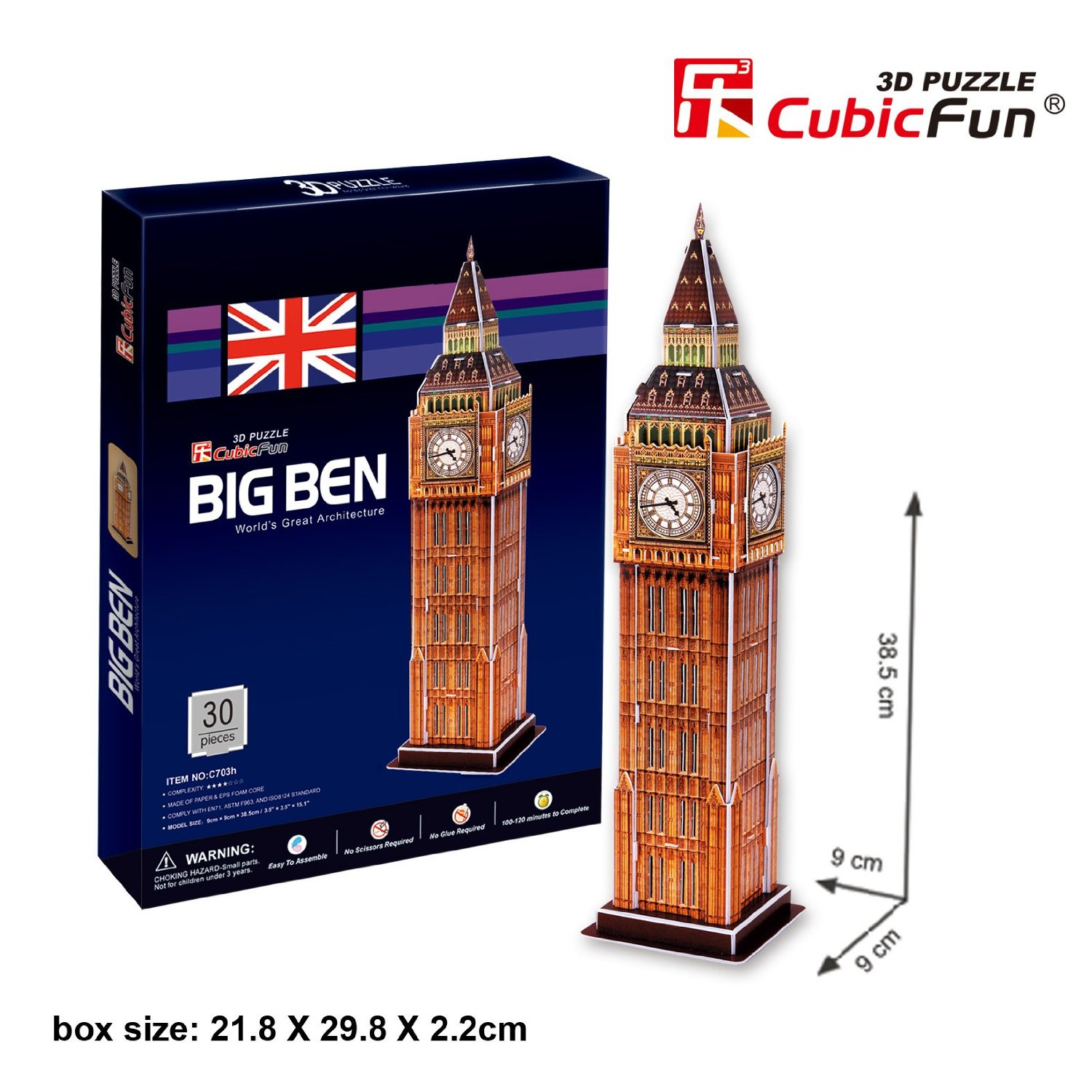 cubic-fun-puzzle-3d-big-ben-london-england-30-teile-puzzle-cubic-fun-c703h