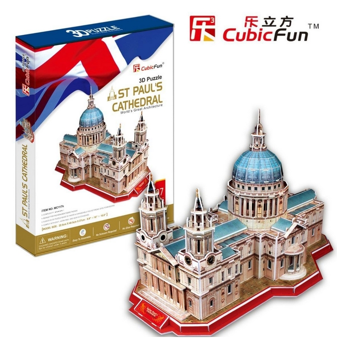 cubic-fun-puzzle-3d-st-pauls-cathedral-london-107-teile-puzzle-cubic-fun-mc117h