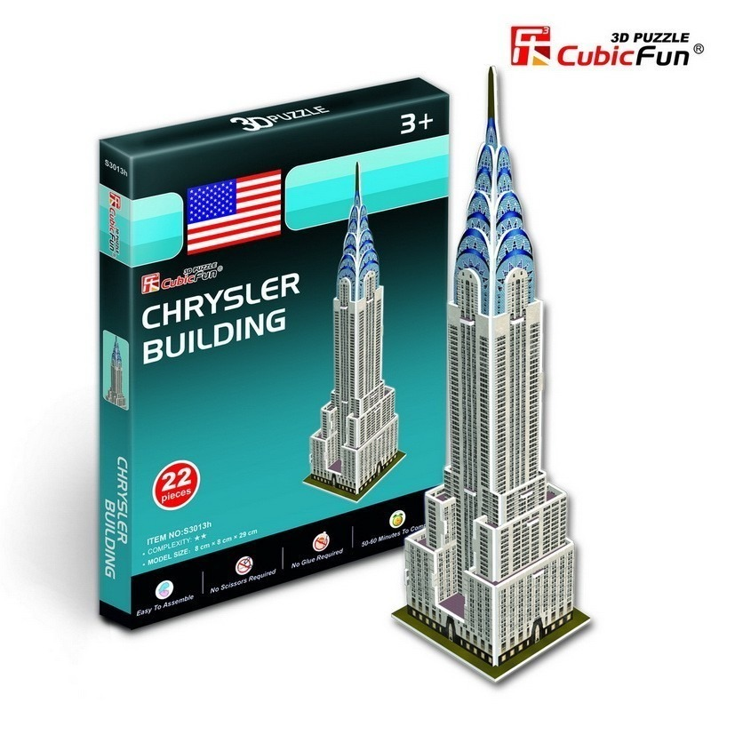 cubic-fun-puzzle-3d-mini-chrysler-building-new-york-22-teile-puzzle-cubic-fun-s3013h